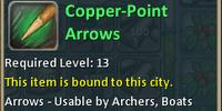 Copper-Point Arrows