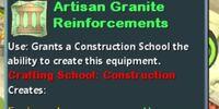 Artisan Granite Reinforcements