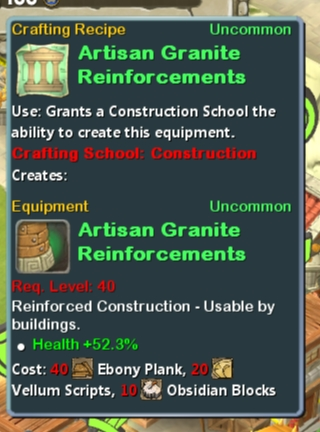 CR Con 40 Artisan Granite Reinforcements