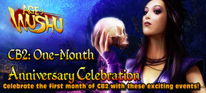 CB2 One-Month Anniversary Celebration