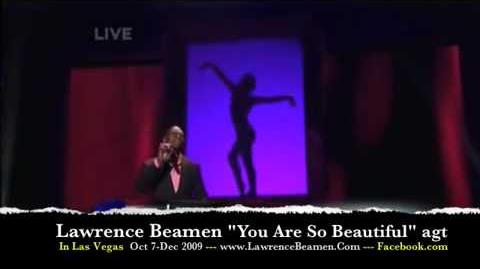 """America's Got Talent - Lawrence Beamen """"You Are So Beautiful"""""""