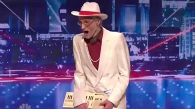 Burton Crane, 77, Auditions New York ~ America's Got Talent 2012