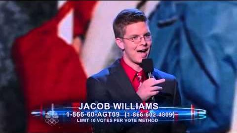 FULL Jacob Williams - Quarterfinal - America's Got Talent 2012