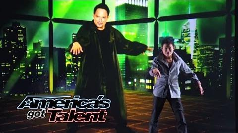 Kenichi Ebina AGT Season 8 Winner Returns With Matrix-Style Dance - America's Got Talent 2014