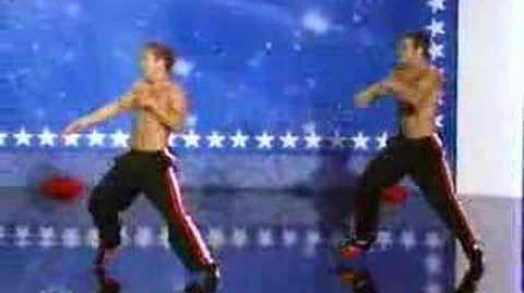 Sideswipe on America's Got Talent