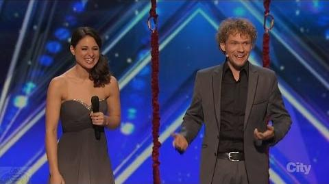 America's Got Talent 2016 Amelie and Tommy The Clairvoyants Full Clip S11E01