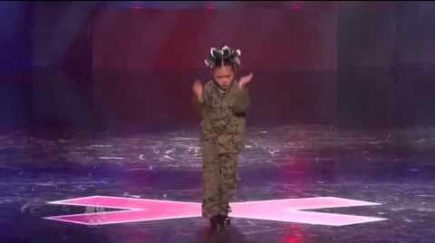 Lil Starr - Dancing - Vegas Round - America's Got Talent 2012