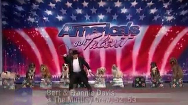 Bert, Frannie Davis & The Muttley Crew ~ America's Got Talent 2010, auditions Dallas