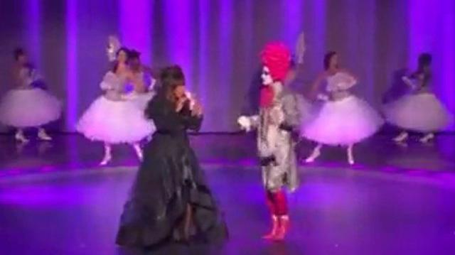 Donna Summer perform with Prince Poppycock on America's Got Talent FINALE-0