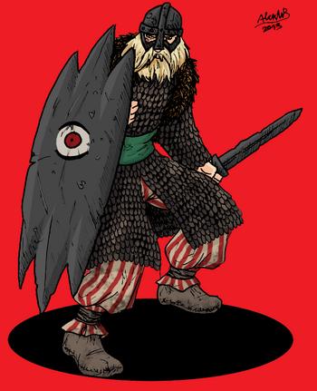Human nutk warrior by shabazik-d5xcshu