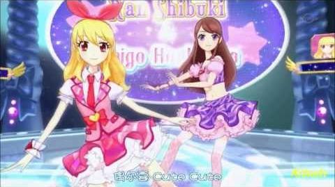 【HD】Aikatsu! - episode 05 - Ichigo & Ran - prism spiral【中文字幕】-0