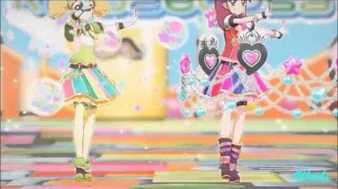 【HD】Aikatsu! - episode 58 - Seira & Kii - Magical time