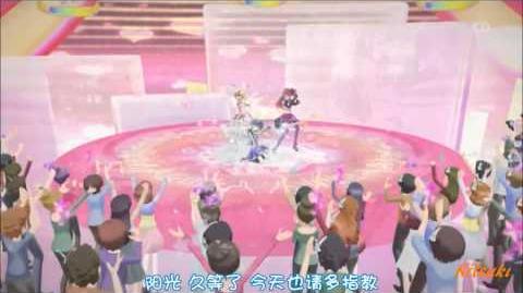 【HD】Aikatsu! - episode 22 - Ichigo & Aoi & Ran - Calendar girl【中文字幕】