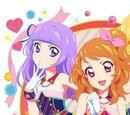 "TV Anime ""Aikatsu!"" Trzeci Sezon Nowy OP/ED Motyw - Lovely Party Collection / Tutu・Ballerina"