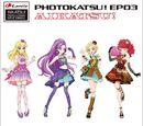 """Aplikacja Smart Phone """"Aikatsu! Zdjęcie na Scenie!"""" Podwójny Singiel Photokatsu! - EP03"""