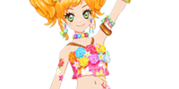 Tropical Hula Girl Coord