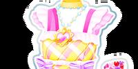 Girlish Ribbon Coord/Yellow Girlish Ribbon Coord