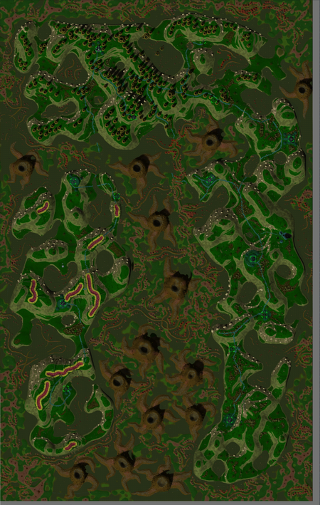 Swamp Sector map clear