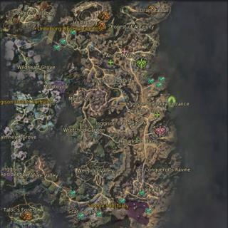 Inggison exits (exact locations)