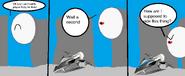 Comic 7: Zero Plays Kirby Air Ride