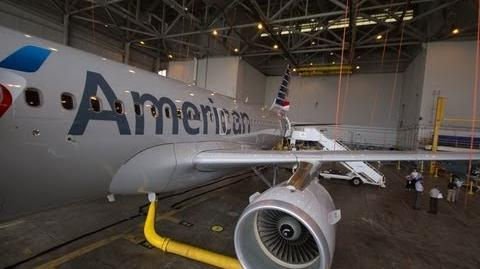 Tour of the American Airlines Airbus A319
