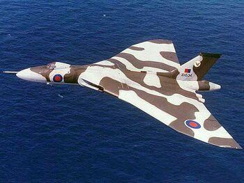 Avro Vulcan British Subsonic Bomber2