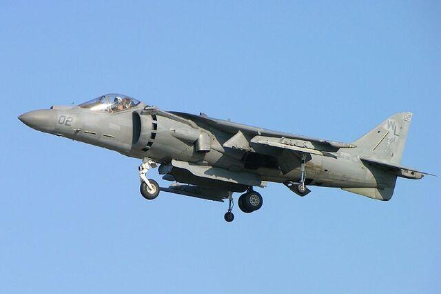 File:800px-United States Marine Corps AV-8B Harrier II hovering.jpg