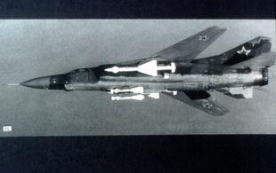 MiG-23 armament