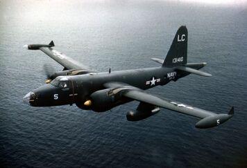 P2V-5F Neptune VP-8 in flight c1958