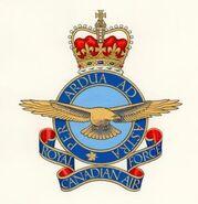 RCAF Heraldic Badge