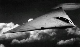 A-12 Avenger in flight NAN11-90