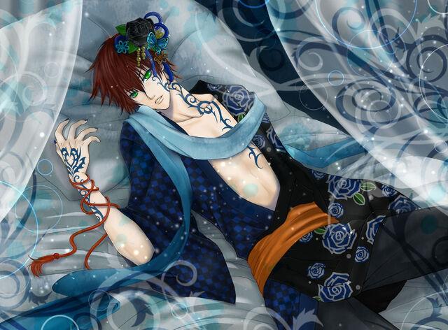File:348466 paren postel tatuirovka tatu kimono krasnyj 1920x1416 (GdeFon.jpg
