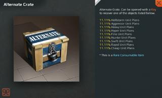 Alternate Crate Full