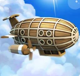 Wooden Zeppelin