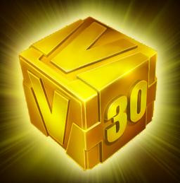 Gold Cube 30