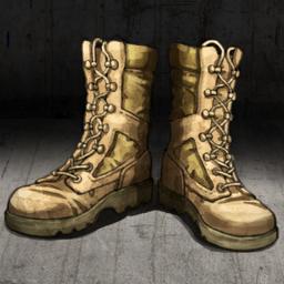 Combat Boots Crop