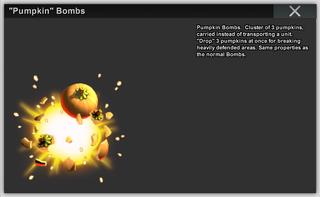 Pumpkin Bombs