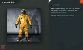 Hazmat Suit Full