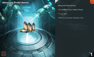 Advanced Pistol Ammo Full