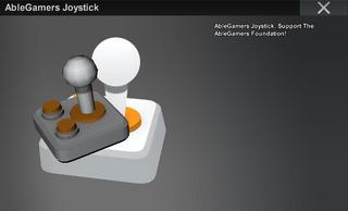 AbleGamers Joystick full image