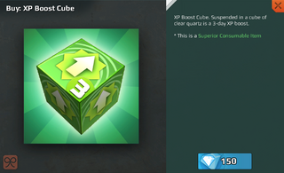 XP Boost Cube-3 Day