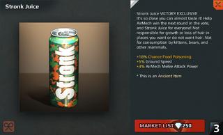 Stronk Juice