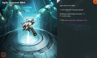 Agile Hammer Mk4 Full