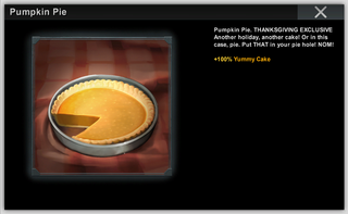Pumpkin Pie (Flair) b20718