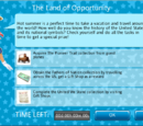 The Land of Opportunity