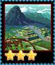 Machu Picchu (Dark Skies)-Stamp