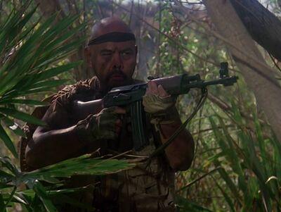 Bandit leader-once a hero