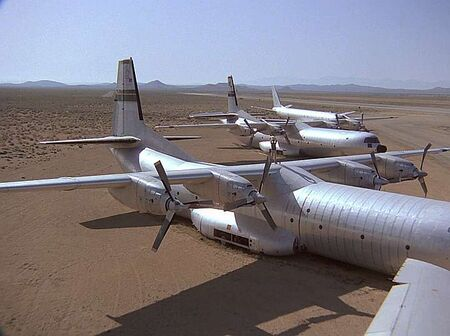 C-133-to snare a wolf