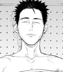 Yūsuke's body.