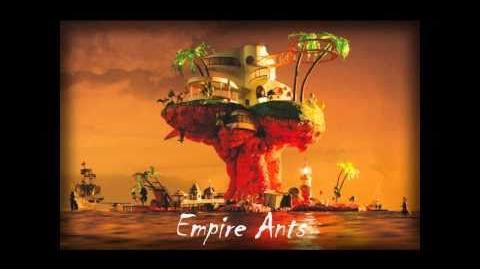 Gorillaz- Empire Ants (Lyrics)